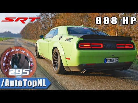 888HP DODGE HELLCAT XR | ACCELERATION & DRAGY GPS DATA By AutoTopNL