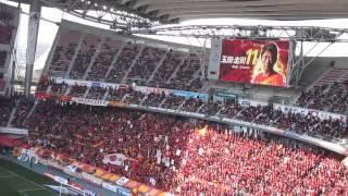 2013開幕戦、名古屋グランパスvsジュビロ磐田のグランパス選手紹介、カ...