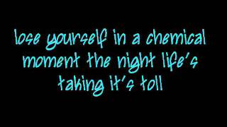 Stella-All Time Low, lyrics on screen