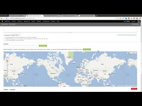 Drupal 7 Geolocation Field Module - Daily Dose of Drupal Episode 31