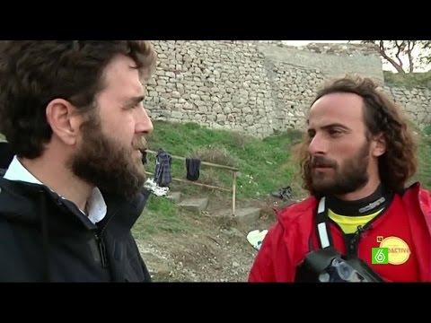 Gonzo entrevista a Nico Migueiz, un voluntario en Lesbos