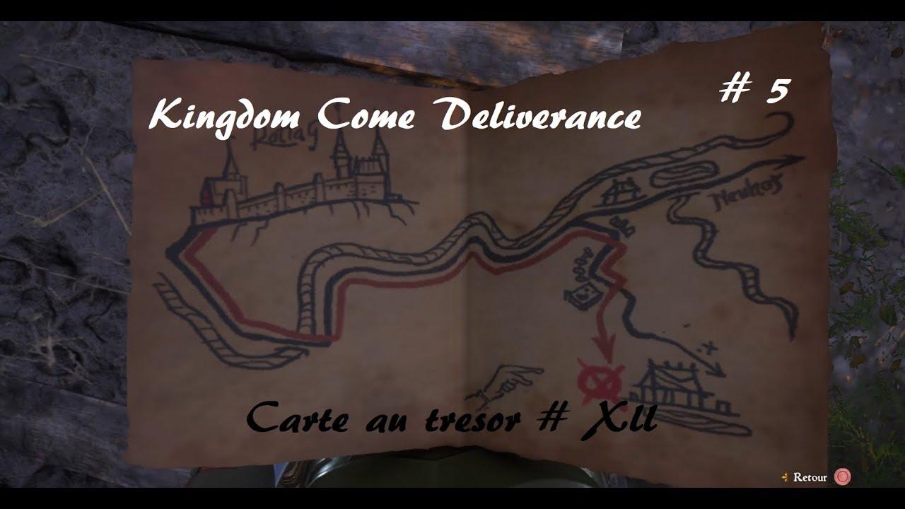 Carte Au Tresor Kingdom Come.Kingdom Come Deliverance Carte Au Tresor Xii