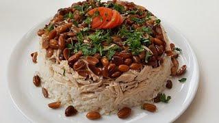 En Güzel Davet Pilavı Olan Tavuklu Fıstıklı Pilav Tarifi-Çok Kolay Yemek Tarifleri-Pilav Tarifleri
