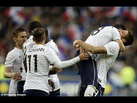 France vs Nigeria 2014 (2-0) l Paul Pogba Goal & Highlights [HD]