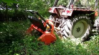 Kosiarka leśna mulczer Orkan KL 140 Ursus C385 914