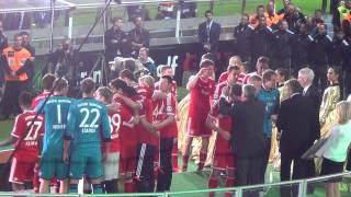 dfb pokalfinale 2013   fc bayern vs vfb stuttgart   siegerehrung