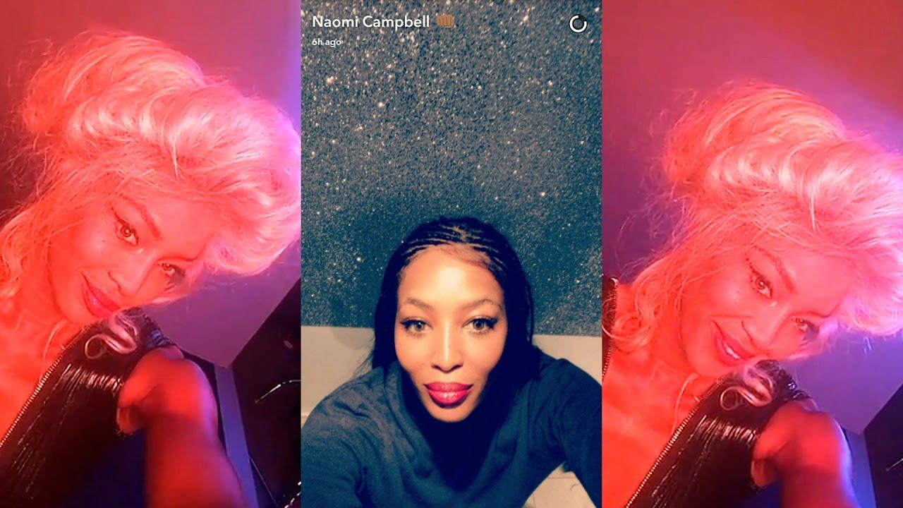 Snapchat Naomi Campbell nude photos 2019