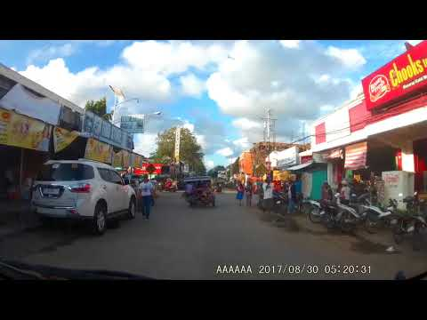 August 30, 2017 Dash cam video compilation bayawan city negros oriental front