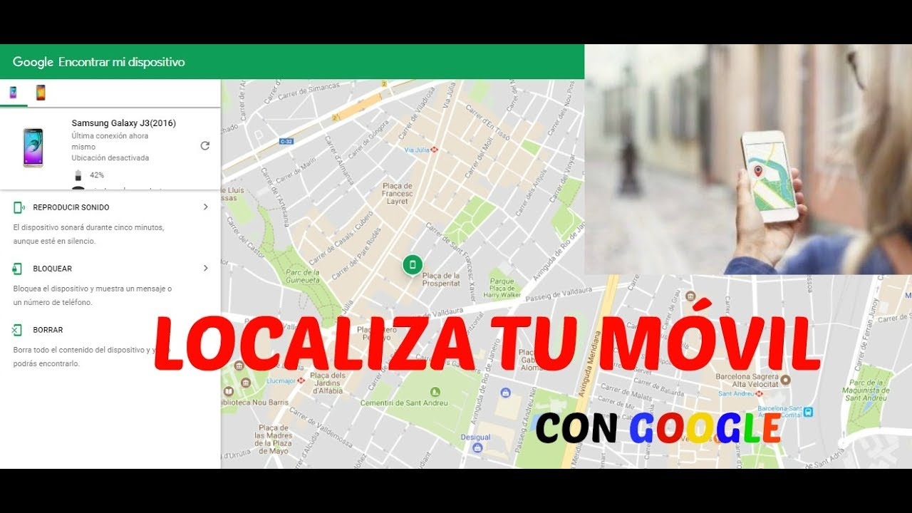 Google maps rastreador de celulares