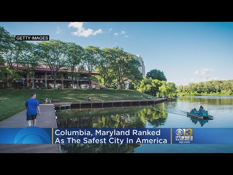 Columbia, Maryland Is The Safest City In America