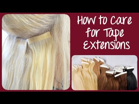 How to care for tape in hair extensions instant beauty youtube how to care for tape in hair extensions instant beauty pmusecretfo Gallery