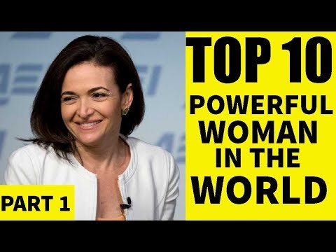 Top 10 Most Powerful Women in the world today | part 2 | | list top 10 |