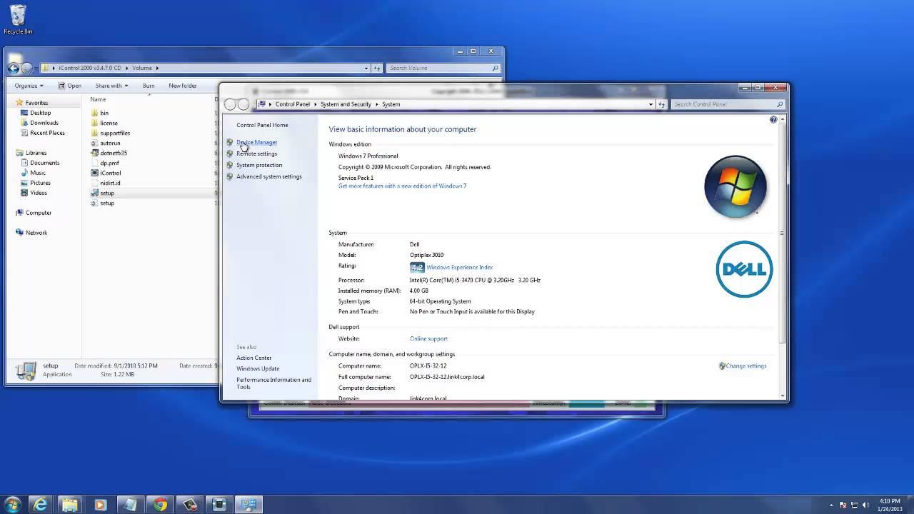 iControl 1000 Installation Process