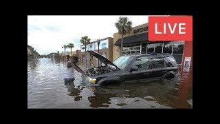 CNN-Live Stream News - Hurricane Irma's eyewall reaches Florida Keys Live Update
