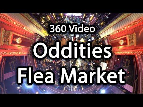 [360 Vlog] Oddities Flea Market Los Angeles 2019