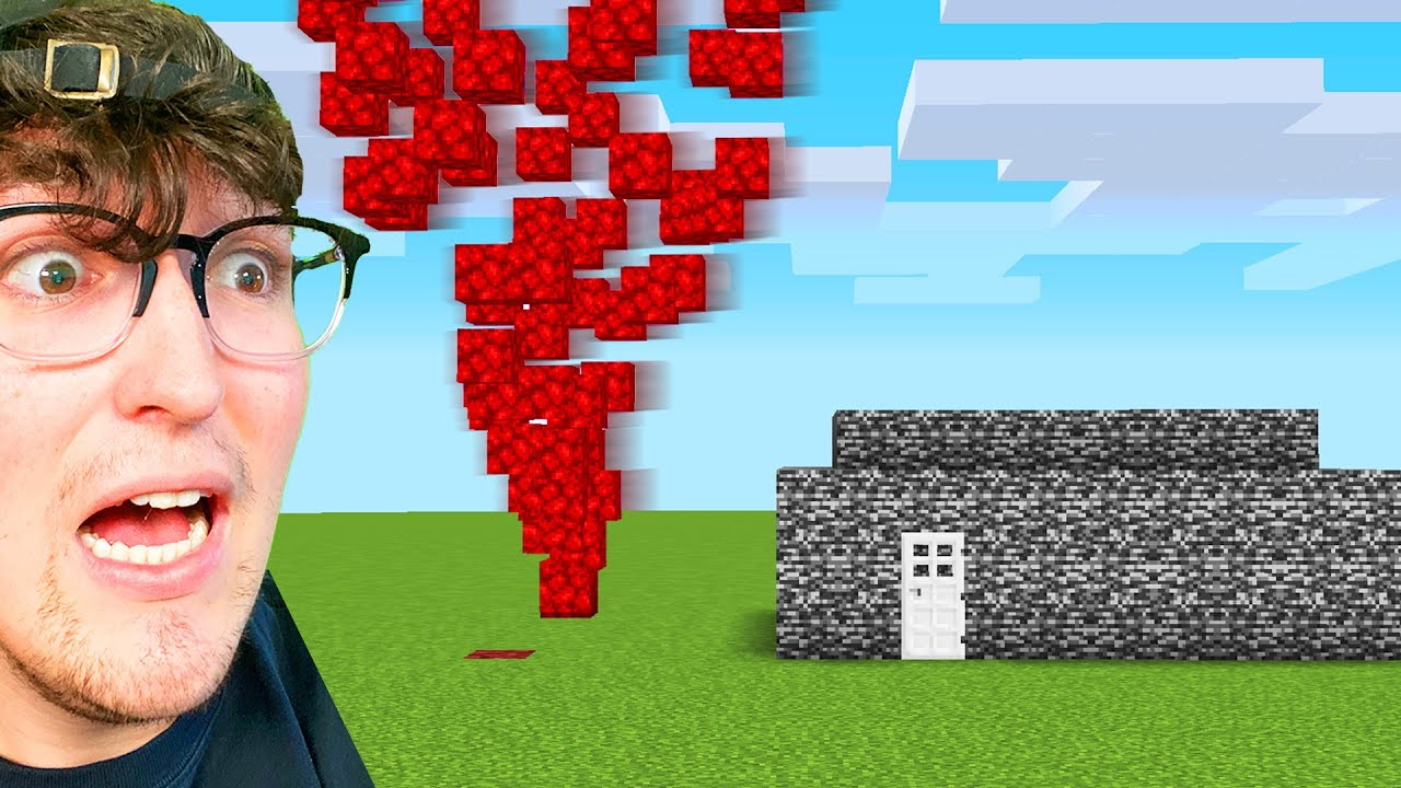 Testing Tornado Hacks To See If They Work In Minecraft
