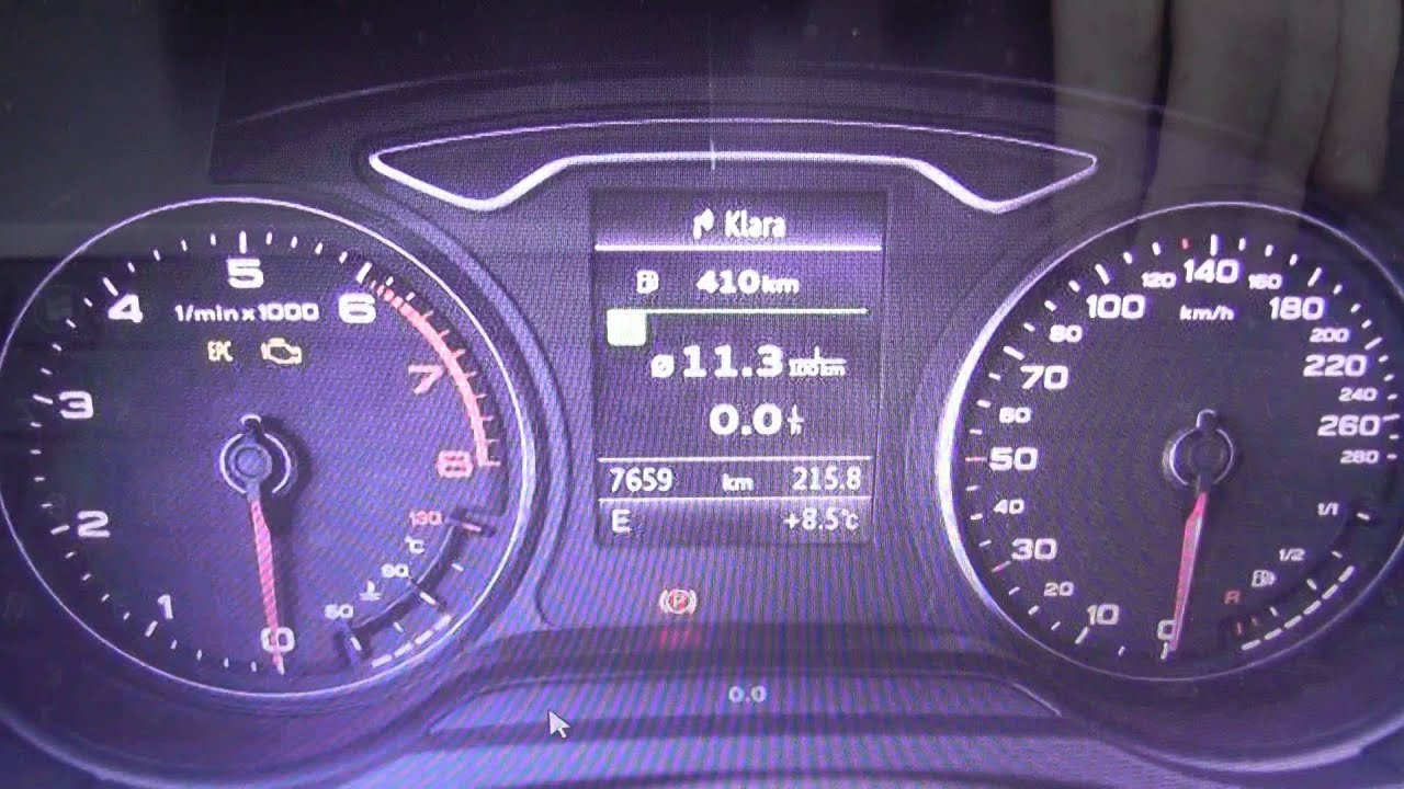 Audi Q3 Abs Dash Warning Light Symbol Lamps How To Remove Youtube