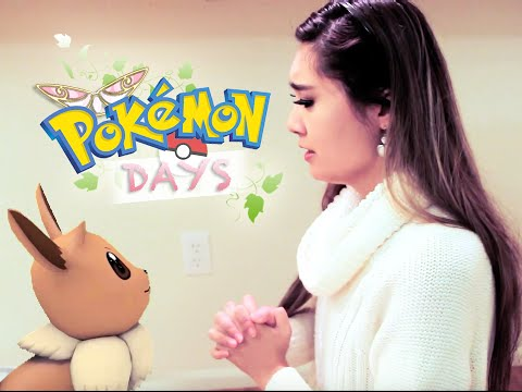 My Eevee Evolves Into...?! POKÉMON STORY (In Real Life) | Valory Pierce
