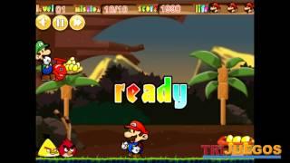 Mario Vs Angry Birds juego de habilidad