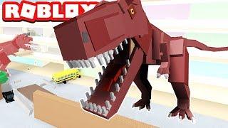SURVIVE THE JURASSIC PARK ATTACK / Roblox / Dinosaur Hunter - Episode #1