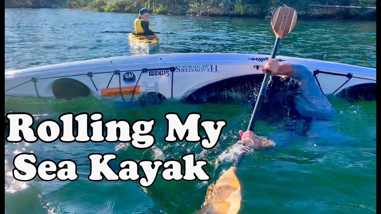 Kayak Rolling and Rescue Practice at Whiskeytown Lake