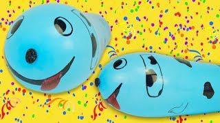Шарики сюрпризы с игрушками для малышей. Игрушкин ТВ