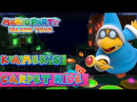 Mario Party Island Tour: Kamek's Carpet Ride (4-Player)