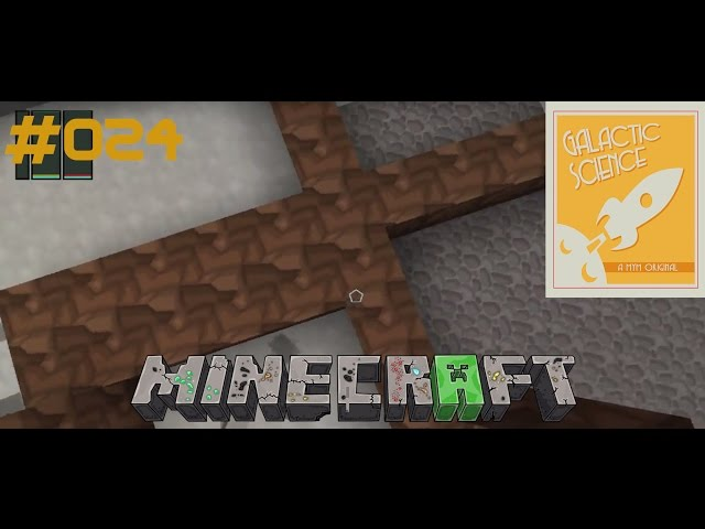 Let's Play Minecraft Galactic Science | Out of Dirt | Folge #024