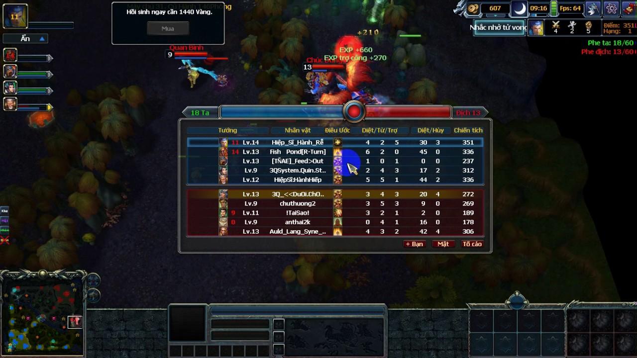 trận đánh hay 3q 2d