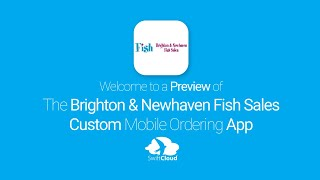 Brighton & Newhaven Fish Sales - Mobile App Preview - BAN639W