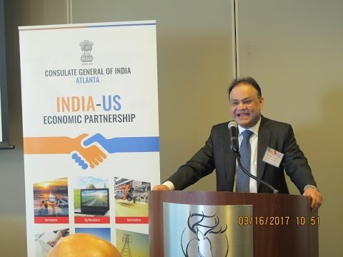US India Economic Partnership Executive level event with Tech Mahindra, CGI Atlanta and CII