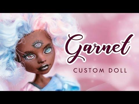 Cotton Candy Garnet from Steven Universe • Custom Doll Tutorial