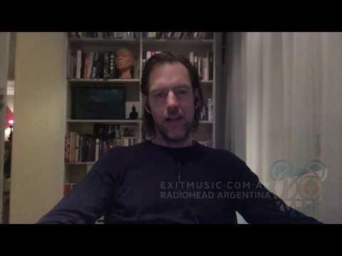 Ed O'Brien - Mensaje para Sudamérica