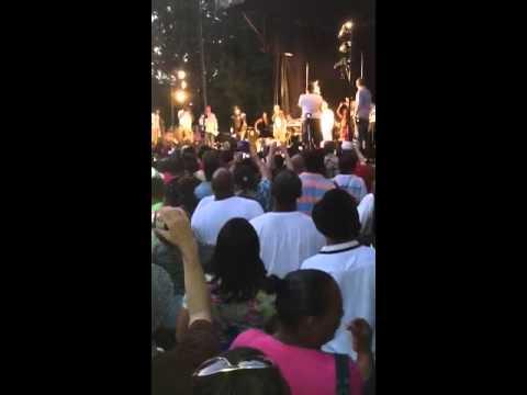 Kurtis blow in the Bronx at crotona  park