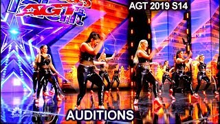 Revolution Queens Malambo Group from Argentina AMAZING | America's Got Talent 2019 Audition