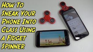 How To Sneak Your Phone Into Class Using a Fidget Spinner - SCHOOL LIFE HACKS
