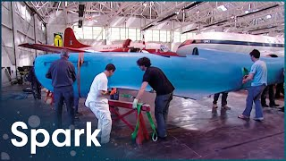 James May Puts A Lifesize Airfix Spitfire Together | James May