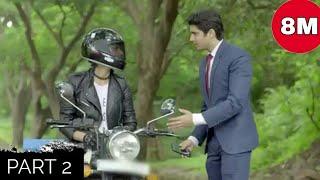 Bullet wali Ladki se pyaar part-2 | Cute love story | 8millioncreation