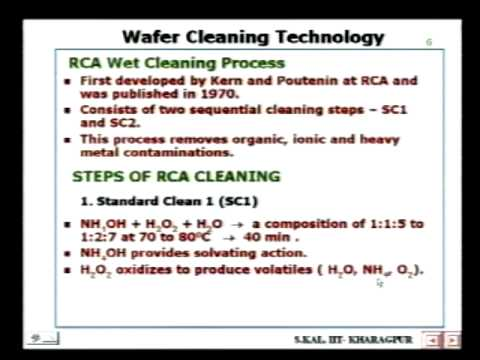 Skal 6 - Wafer Cleaning Technology