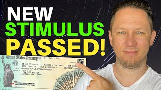 IT'S OFFICIAL! New Stimulus Money PASSED! Second Stimulus Check Update