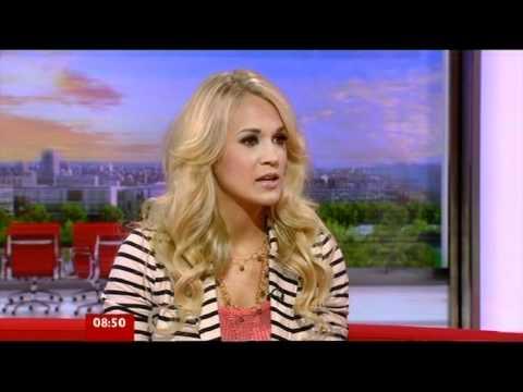 Carrie Underwood Blown Away Interview BBC Breakfast 2012