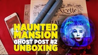 Unboxing Haunted Mansion Ghost Post #2 subscription - Music Box, Blueprints & more thumbnail