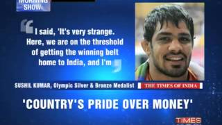 Wrestler Sushil Kumar offered money to Fix Match?