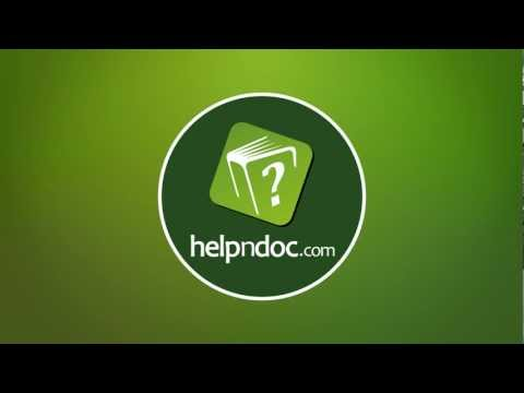 HelpNDoc - Do you like to write documentation ?