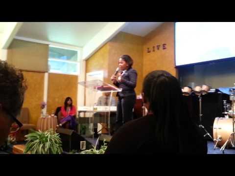 Part 3 CoPastor Christine Woods Preaching! !