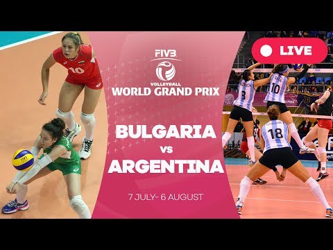 Bulgaria v Argentina- Group 2: 2017 FIVB Volleyball World Grand Prix