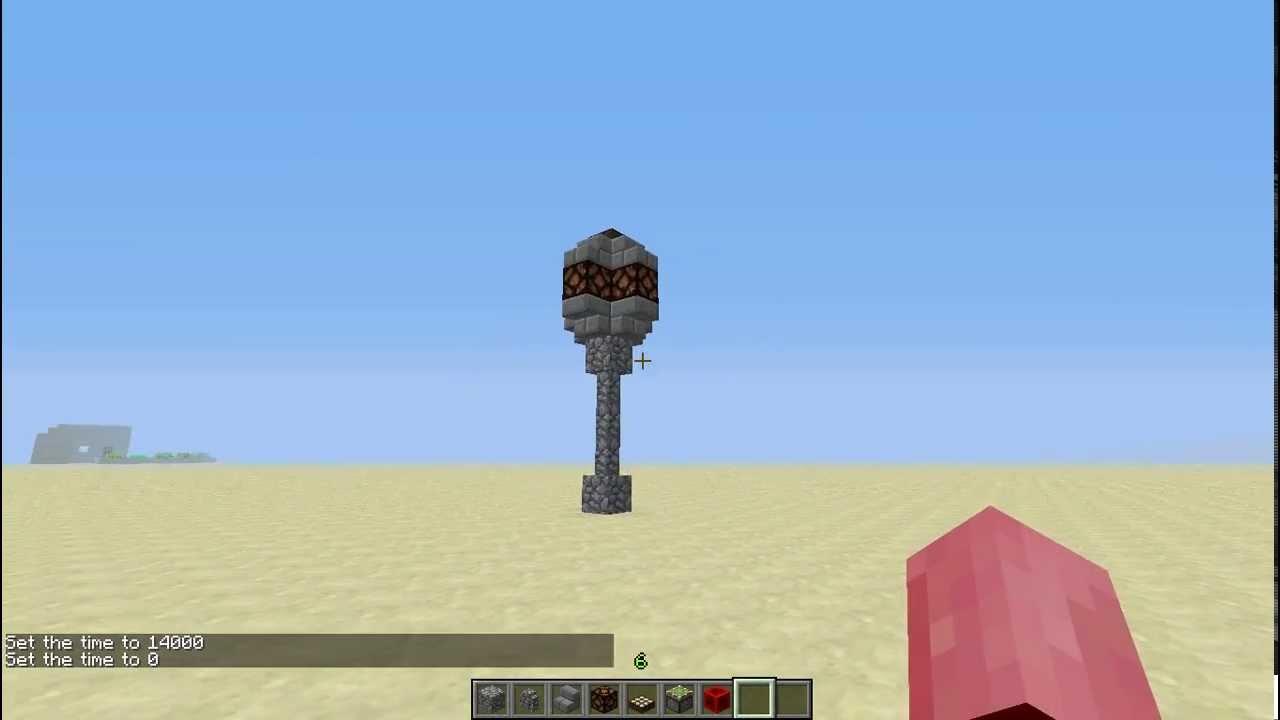 Minecraft Street Lamp Tutorial Youtube