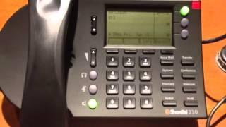 ShoreTel Tutorial - Setup Your Voicemail