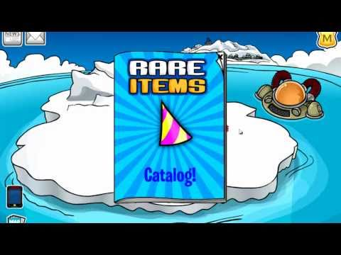 Club Penguin How To Get The BETA HAT And RED LEI 2012