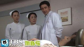 功(土方錦ノ助)は真紀子(宮田早苗)の病室にウイスキーのボトルを持ち込...
